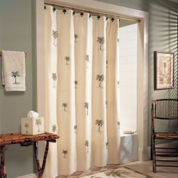 CroscillR Port Of Call 54 Inch X 78 Stall Shower Curtain