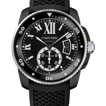 Cartier - Calibre de Diver Automatic - Black ADLC Stainless Steel