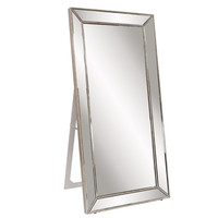 "Howard Elliott Titus Mirrored Standing Mirror 30"" x 70"" x 20"""