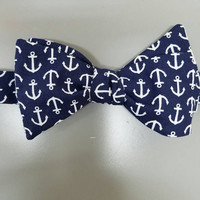 Anchor - anchors - nautical - mens - guys - comicon - dad - husband - boyfriend - valentines-  day - gift - bow - tie - fashion