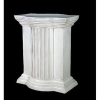 Greek Temple Classical Columnn Riser Pedestal for Statue 29H