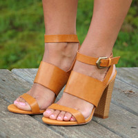 Strut Your Stuff Heel- Tan