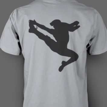 Black Jumping Newsies T-shirt
