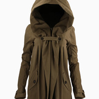 WOMEN :: OUTERWEAR :: ANTHRO JACKET TAUPE - NICHOLAS K