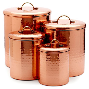 copper canister set kitchen best copper canister set products on wanelo 16850