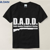 Personalized Funny T Shirt Dads Of Destiny Black T-Shirt Men Cotton Simple Tshirt Casual Pop
