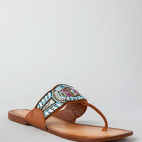 INDIAN SUMMER BEADED SANDAL