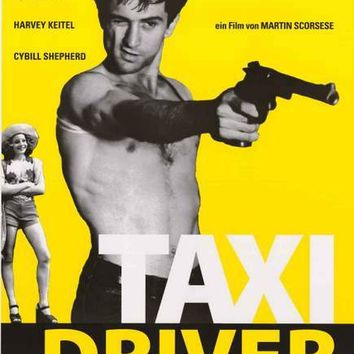 Taxi Driver (German) Movie Poster 24x36