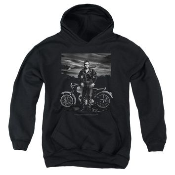 Dean - Rebel Rider Youth Pull Over Hoodie
