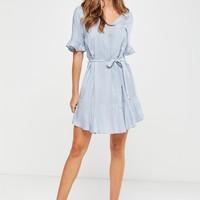Woven Matina 3/4 Sleeve Dress