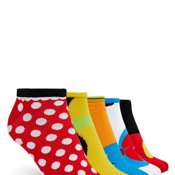 Disney Character Socks - 5 Pack