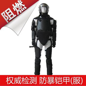 Hard Armor Suit Riot Gear Tactical Vest Stab-Resistant Protective Clothing Cosplay