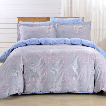 Duvet Cover Sheets Set, Dolce Mela Naxos Queen Size Bedding