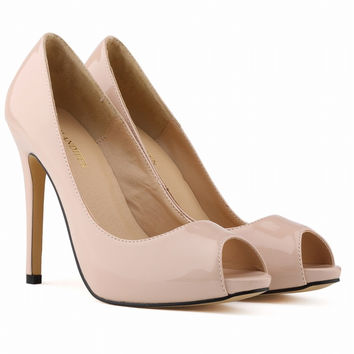 Fashion Super High Heels Peep-Toe Sandals
