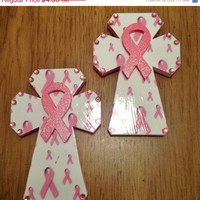 Fall-tastic 25%off Sale Breast Cancer Awareness Crosses