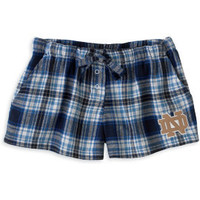 COLLEGE CONCEPTS : University of Notre Dame Women's Crossroad  Shorts : Hammes Notre Dame Bookstore