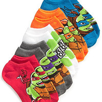 Teenage Mutant Ninja Turtles Boys' or Little Boys' 5-Pack No-Show Socks