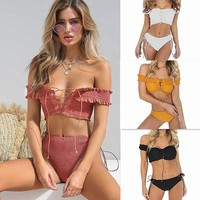 Sexy Two-Piece Bikini Swimsuit Swimwear