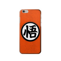 P2807 Dragon Ball Z Goku Japan Kanji Symbol Anime Costume Phone Case For IPHONE 6S