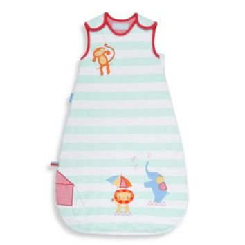 Grobag Size 0-6M 1.0 Tog Baby Sleep Bag in Sleepy Circus