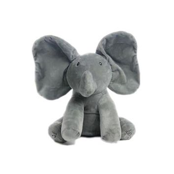 Kids Plush Stuffed Animal Baby Elephant Musical Doll Toys