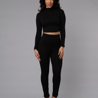 Leisure Leggings - Black