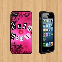 BURN BOOK GIRLS Custom Case/Cover FOR Apple iPhone 5 BLACK Rubber Case ( Ship From CA )