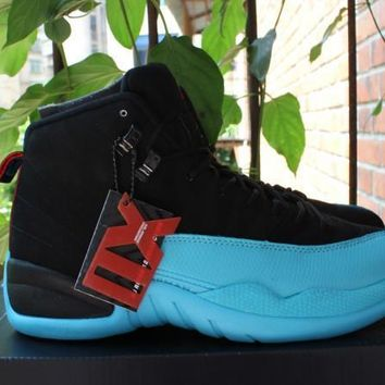 Air Jordan 12 Gamma Blue Basketball Shoe 36-47
