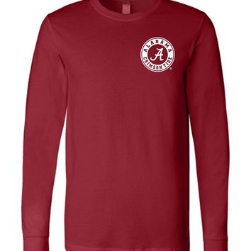 Official NCAA Venley University of Alabama Crimson Tide UA ROLL TIDE! Est 1831 Long Sleeve T-Shirt - 35AL-16