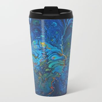 Organic.3 Metal Travel Mug by DuckyB