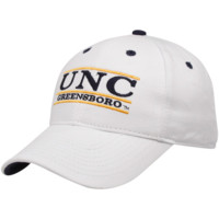 The Game UNCG Spartans White 3-Bar Classic Adjustable Hat