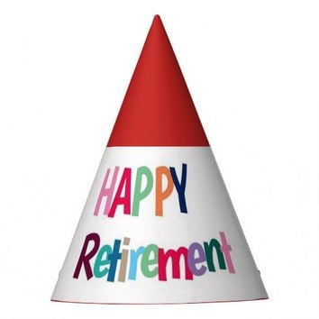 Happy Retirement Party Hat