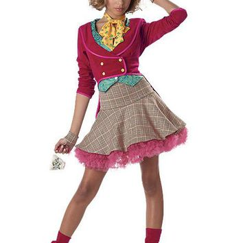 Tween/Teen Costumes The Mad Hatter (3 To 5,Multicolor)