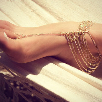 Gift Jewelry New Arrival Sexy Shiny Ladies Cute Hot Sale Summer Stylish Chain Anklet [7241002887]