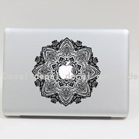 Transparent Flower  Macbook Decal Macbook Decals Macbook Sticker Mac Decals Macbook Pro Air ipad sticker iphone sticker iPhone case
