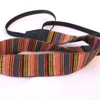 Fotasy VNS Soft Multi-Color Neck Strap & Cleaning Cloth for Canon Fuji Nikon Olympus Panasonic Pentax Sony Cameras