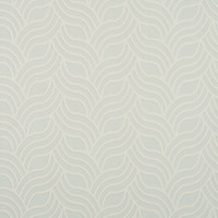 Nouveau Wallpaper in Soft Blue and Pearl design by York Wallcoverings