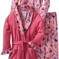 Baby Bunz Little Girls'  Hats And Purses 3 Piece  Pajama Set
