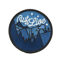 Out To Live Patch (Glow-in-the-Dark)
