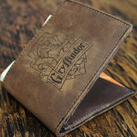 Harry Potter Gryffindor Leather Wallet [multicolors] [customizable]