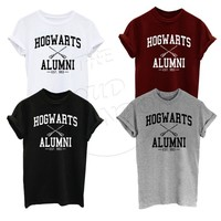 2016 Summer T Shirt Hogwarts Alumni Harry Potter Inspired Magic Camisetas Tees American Apparel Harajuku T Shirt For Men Women-in T-Shirts from Women's Clothing & Accessories on Aliexpress.com | Alibaba Group