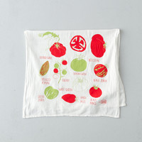 Tomato Harvest Tea Towel