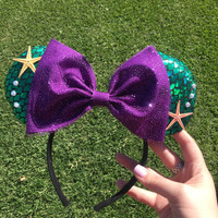Minnie Mouse Inspired Ariel Ears
