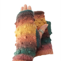 Fingerless Mittens, Hipster Mitts, Women Mittens, Men Mitts, Knit Texting Driving Gloves, Mittens, Fingerless Gloves, Boho Fngerless Mitts,