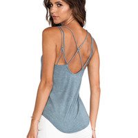 RVCA Botanga Tank in Blue