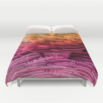 RUFFLED Duvet Cover by Catspaws | Society6