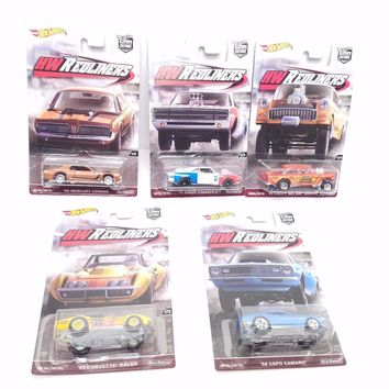 Set Of 5 Hot Wheels Redliners Car Culture NEW 2016 IN STOCK Muscle Cars