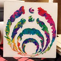 BASS DROP Cut Vinyl - BASSNECTAR 2016 - Waterproof Car Graphic - Original Designs