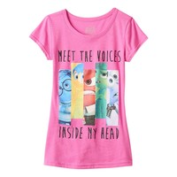 Disney's Inside Out ''Meet The Voices'' Graphic Tee - Girls 7-16, Size: