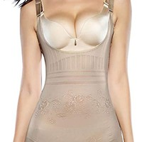 Women's Body Briefer Body Shaper Waist Cincher Bodysuit Shapewear